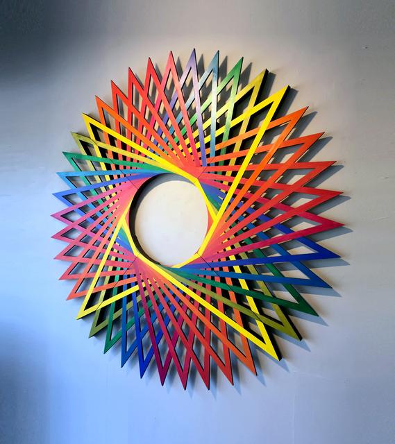 , 'Prismatic Motion,' 2018, Gitana Rosa Gallery