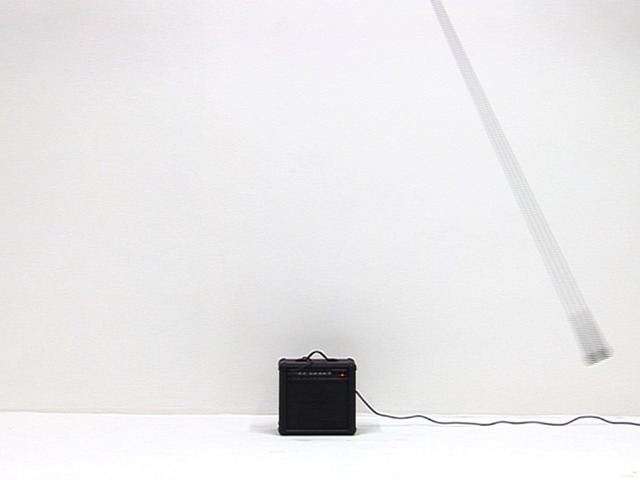 , 'Mic/Amp (Apologies to Mr. Reich),' 2007, Carroll / Fletcher