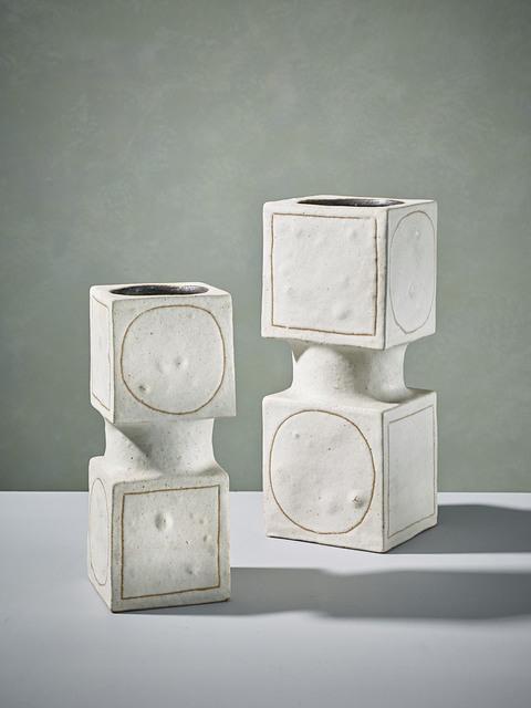 , 'Pair of Cube Sculptures ,' 1980, 18 Davies Street Gallery
