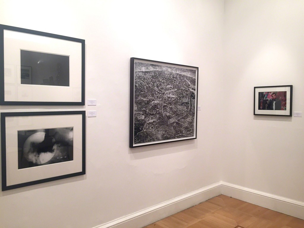 Artists work on display here: Bruce Bernard, Sohei Nishino (Jerusalem Diorama Map), Kikuji Kawada