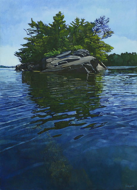 , 'Sow and Pig Ledge with Reflection,' , Greenhut Galleries