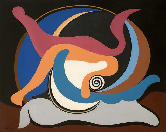 , 'La Lutte,' 1929, Galerie Le Minotaure