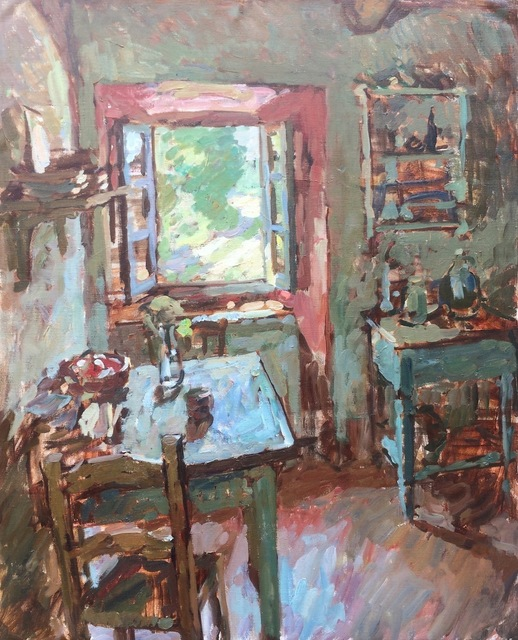, 'Kitchen Interior,' 2018, Grenning Gallery