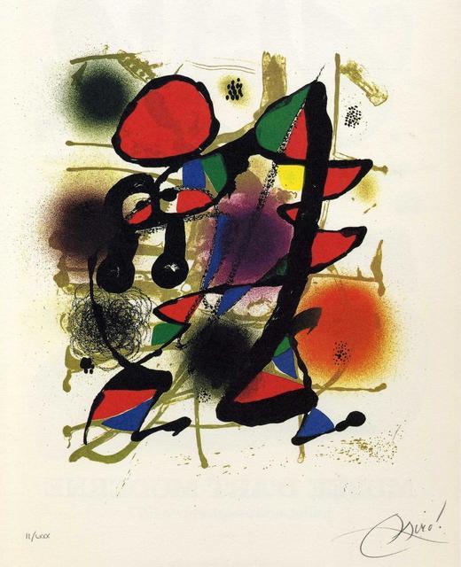 , 'Miró Litògraf III,' 1977, Galeria Joan Gaspar