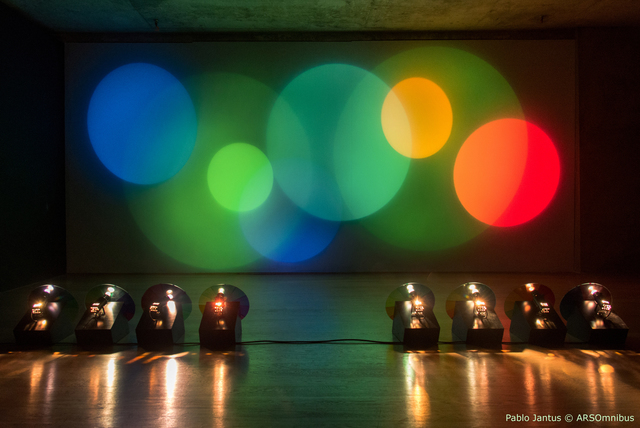 , 'Máquina de hacer color,' 2010, Museo de Arte Contemporáneo de Buenos Aires