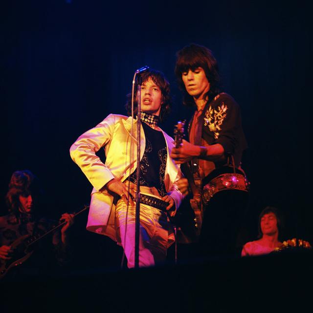 """Bent Rej, '""""The Glimmer Twins"""" Rolling Stones on Stage, Copenhagen, 1970', 1970, TASCHEN"""
