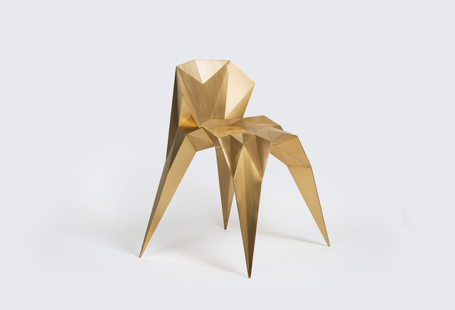 , 'Heart Chair (SQN1-F2B) Brass,' 2014, Gallery ALL