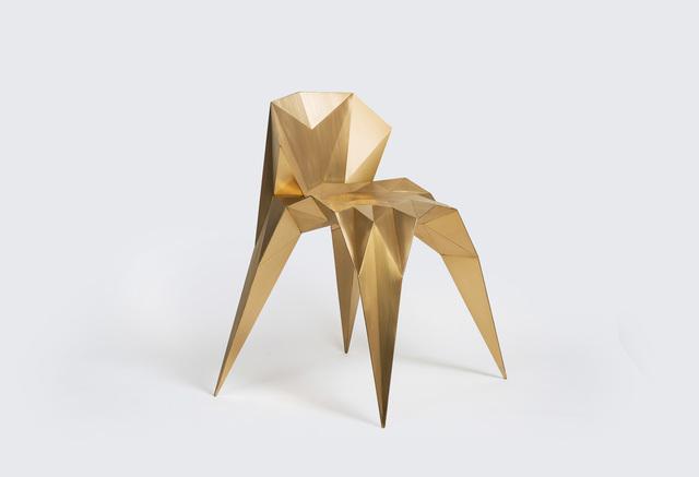 Zhoujie Zhang, 'Heart Chair (SQN1-F2B) Brass', 2014, Gallery ALL