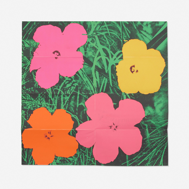 Andy Warhol, 'Marilyn, Flowers and S&H Green Stamps (three mailers)', 1964/1965/1981, Print, Screenprint on paper, Rago/Wright