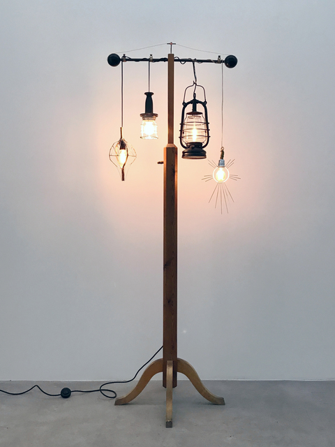, 'Lamp Pole,' 2017, V1 Gallery