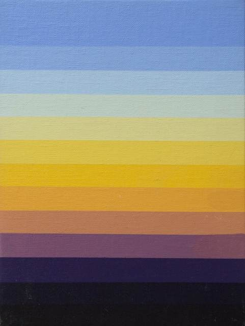 , 'Blue Spectrum 3,' 1986, Louis Stern Fine Arts