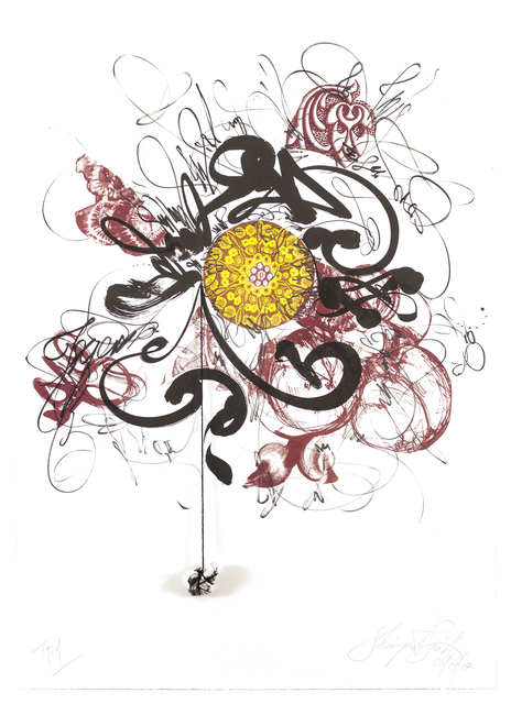 , 'Fortune's Flower,' 2017, Tamarind Institute
