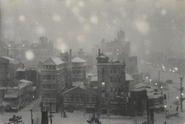 , 'Title unknown (tokyo snowscape),' 1951, MEM