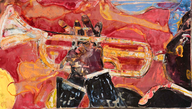 , 'Solo Riff (Louis Armstrong),' 1986, Michael Rosenfeld Gallery
