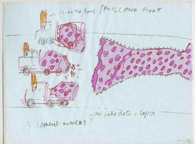 Antoni Miralda, 'Musical Cement Mixers', 1986, Henrique Faria Fine Art