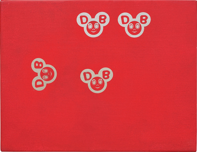 Takashi Murakami, 'Untitled (Red And Gold DOBs)', 1994, Phillips