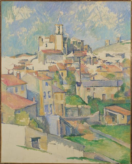Paul Cézanne, 'Gardanne ', 1885-1886, Painting, Oil on canvas, The Metropolitan Museum of Art
