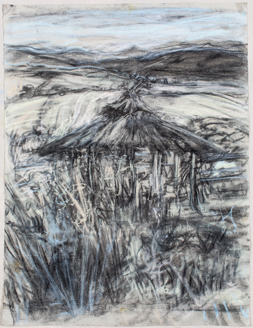 , 'Grey Palapa,' 2015-2016, Marlborough London