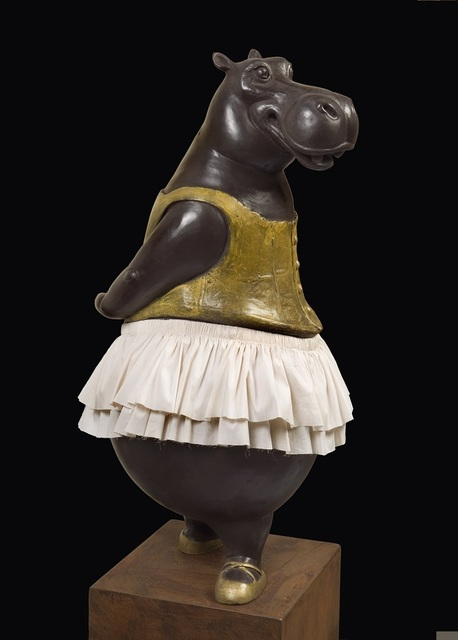 , 'Hippo Ballerina, fourth position,' 2015, Cavalier Galleries