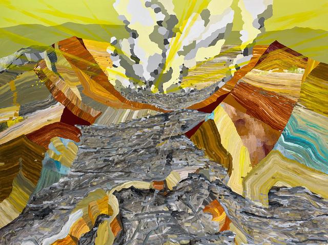 , 'Fear of Volcanoes 96,' 2017, Linda Hodges Gallery
