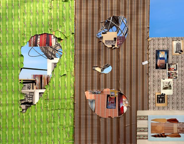 , 'Four Corners Flushing Meadows Park,' 2016, Luis De Jesus Los Angeles