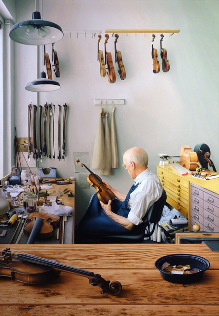 , 'Violin Repair Shop,' 2013, Gallery Henoch