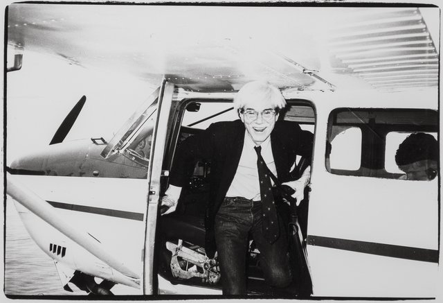 Andy Warhol, 'Andy Warhol on a Seaplane in Montauk', 1982, Heritage Auctions