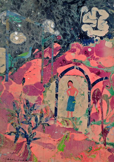 , 'The Red Mountain,' 2016, Tabari Artspace