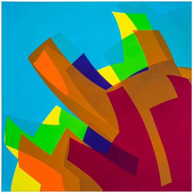 , 'MTCAL 7 Rojo - Azul 1B,' 2017, Marion Gallery