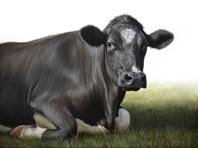 , 'Hannah the Cow,' 2015, Plus One Gallery