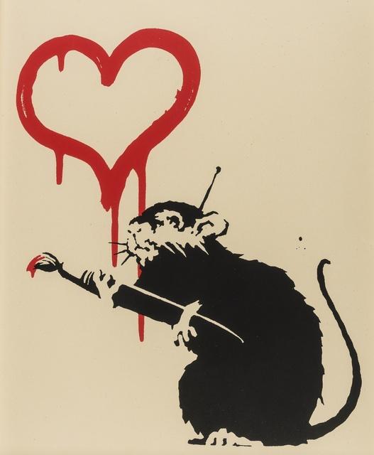 Banksy, 'Love Rat', Forum Auctions