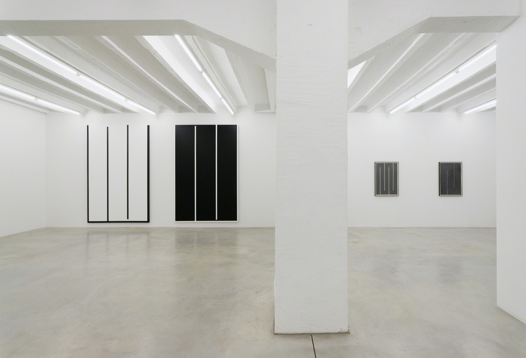 Julije Knifer, Elements, exhibition view, Galerija Gregor Podnar, Berlin, 2016