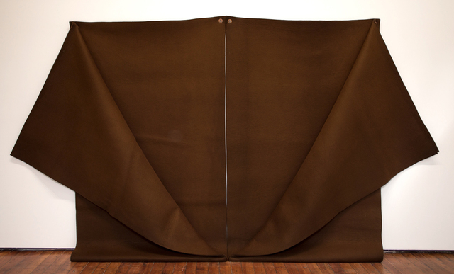 , 'Untitled (brown felt),' 1978, Galleria Fumagalli