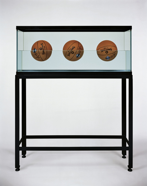 , 'Three Ball 50-50 Tank (Spalding Dr. JK Silver Series),' 1985, Newport Street Gallery