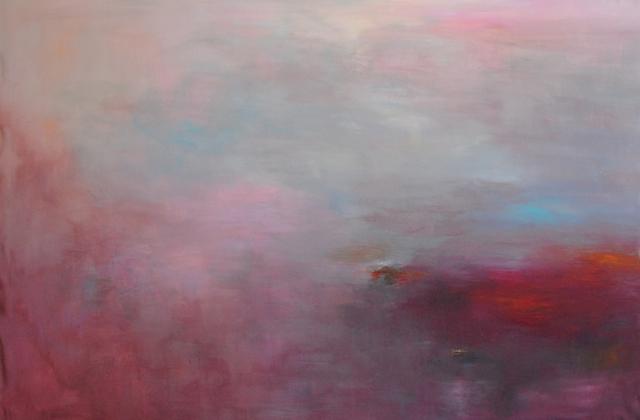 MD Tokon, 'The Evening we met', 2016, Painting, Acrylic on Canvas, Isabella Garrucho Fine Art