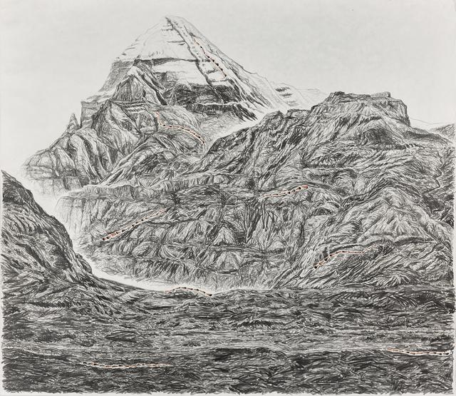 , 'Pen Walking #160 (Pilgrimage to Mount Kailash),' 2017, TKG+