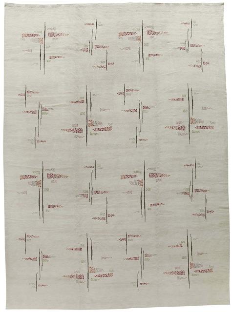 , 'Muren 03B,' Contemporary, Beauvais Carpets
