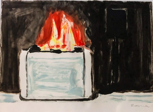 , 'Toaster Fire,' 2017, Cross Contemporary Partners