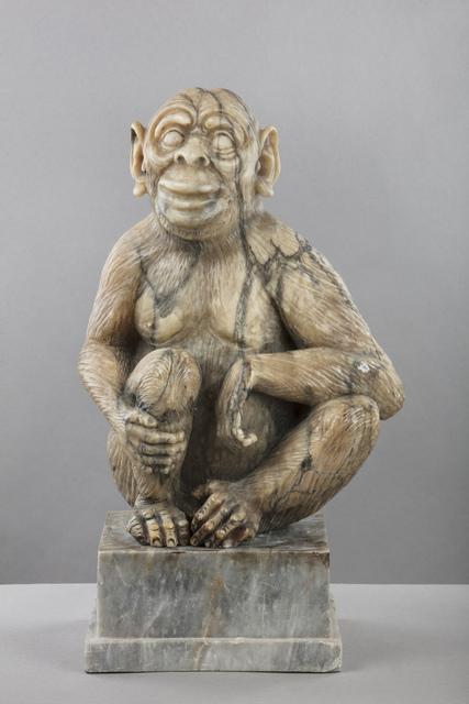 , 'Alabaster Figure of a Monkey,' 19th Century, Brun Fine Art