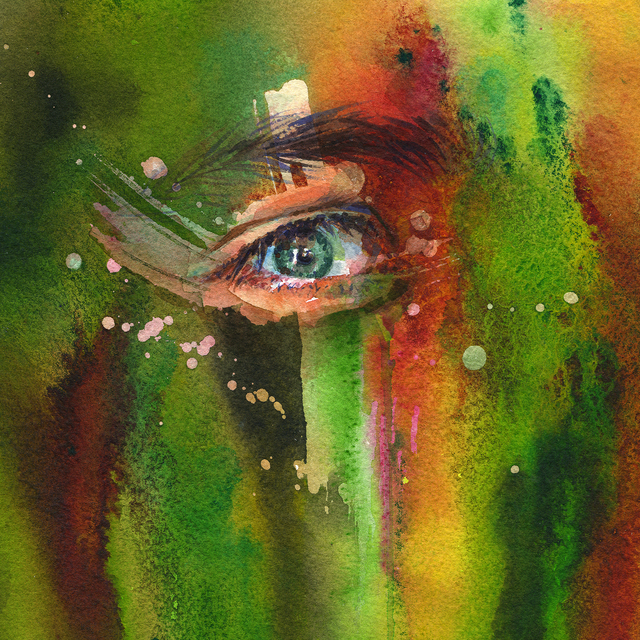 Joanna Barnum, 'Piercing the Veil - Green', 2018, Abend Gallery