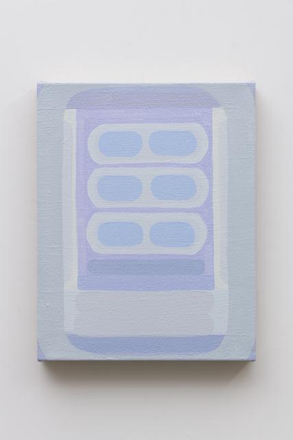 , 'Delphinium,' 2018, Charles Moffett