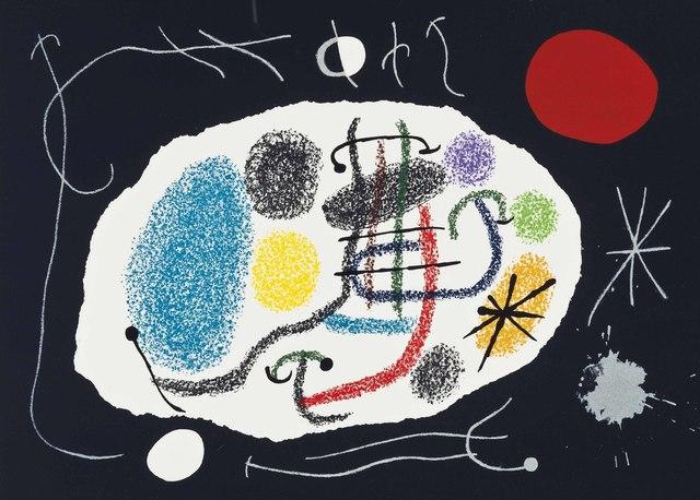 Joan Miró, 'Joan Miro, Le Lézard aux plumes d'or, Louis Broder, Paris, 1971', Christie's