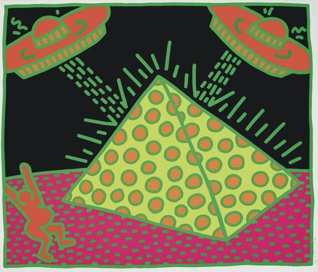 Keith Haring, 'The Fertility Suite: one plate', 1983, Zeit Contemporary Art