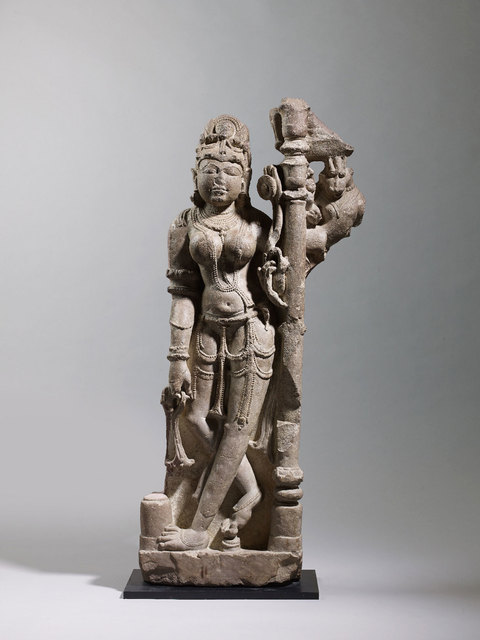 Unknown Indian, 'Female Attendant', Chandella Dynasty-10th century, Rossi & Rossi