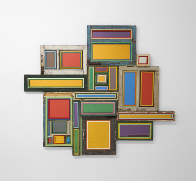 , 'Usefulness of Uselessness - Varied Window No. 10,' 2017, Pace Gallery