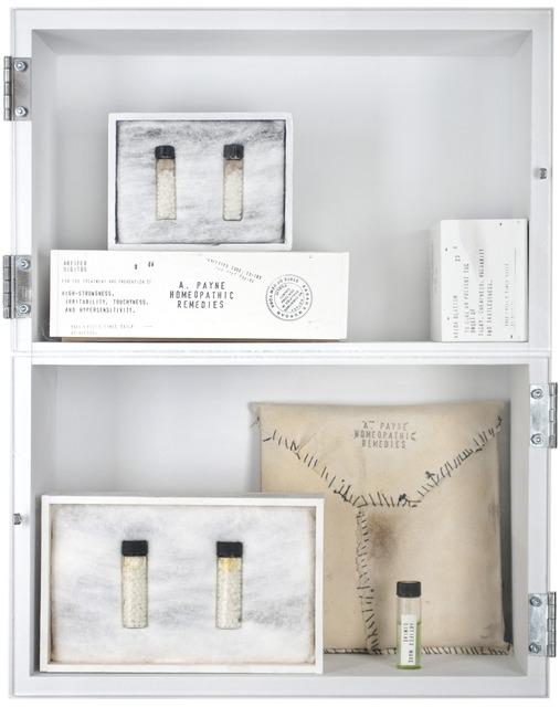 , 'Homeopathic Remedies, Product 02-101,' 2014, Garis & Hahn