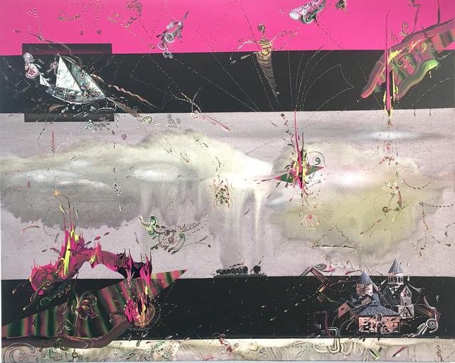 Gegam Kacherian, 'Visiting the Undissappeared', 2018, Painting, Acrylic & UV coated Ink on Mylar, Tufenkian Fine Arts