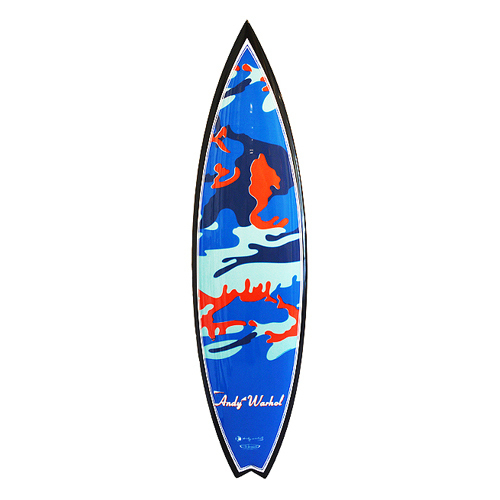 Andy Warhol, 'Camo Swallowtail Surfboard', 2015-2019, Artware Editions