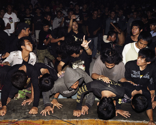 Jörg Brüggemann, 'Front Row V Death Vomit Unlogic Scream 3, Salatiga, Indonesia February 2010', 2010