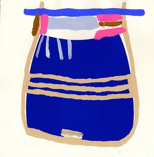 , 'BLUE POUCH / POOCH,' 2013, ROCKELMANN  &